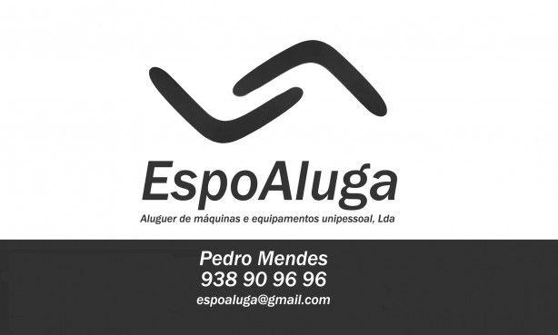 Foto 2 de Espoaluga - Aluguer de Máquinas e Equipamentos Unipessoal Lda