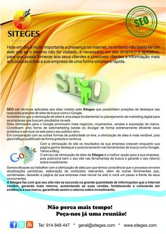 Foto 2 de Siteges - gestão de Sites