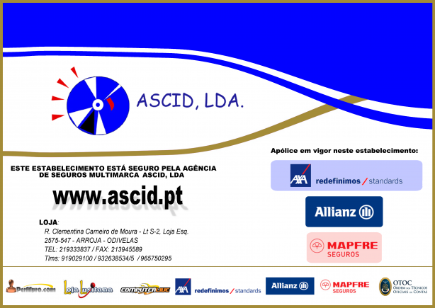 Foto 5 de ASCID - Agência de Seguros, Contabilidade, Informática e Documentação em Odivelas