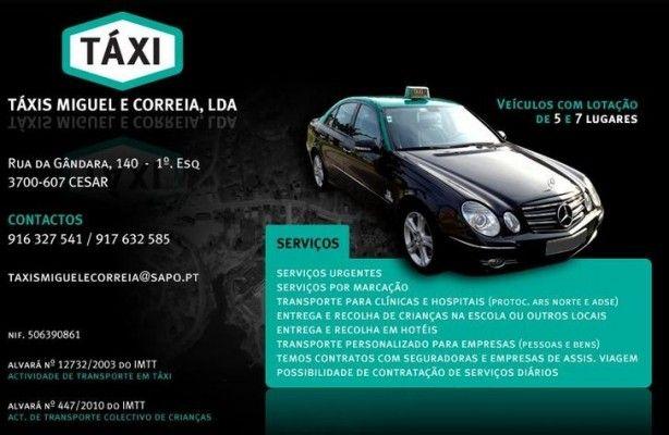Foto 1 de Taxis Miguel E Correia Lda.