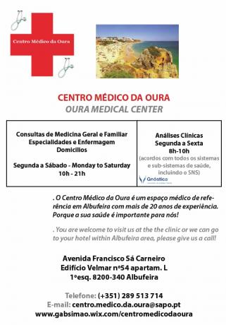 Foto 1 de Centro Médico da Oura - Medicina e Enfermagem, Unipessoal Lda.