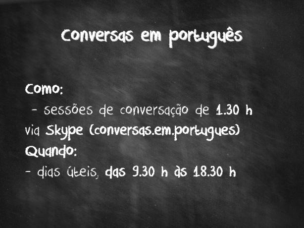 Foto 1 de Conversas Em Português