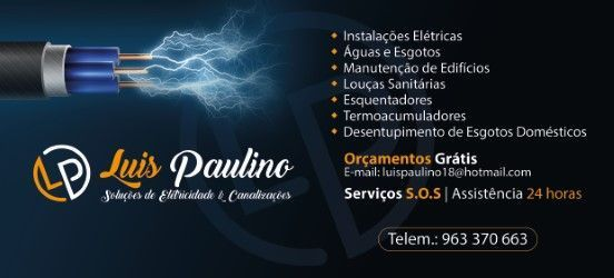 Foto 2 de Luis Paulino  ( soluções eletricidade & canalização )
