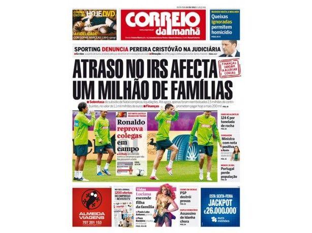 Foto 2 de Jornal Correio da Manhã, Aveiro