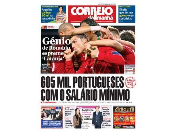 Foto 3 de Jornal Correio da Manhã, Aveiro