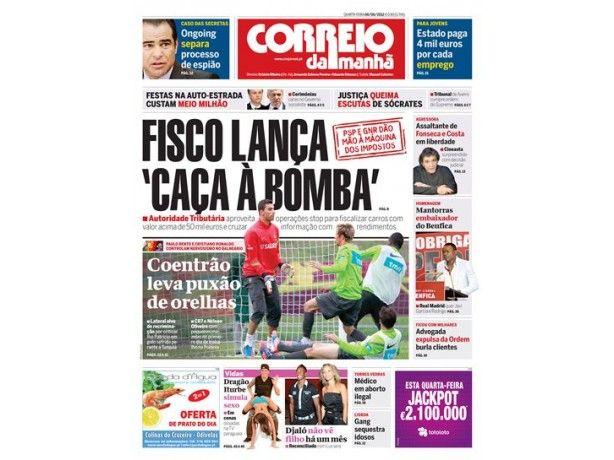 Foto 1 de Jornal Correio da Manhã, Aveiro