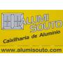 Logo Alumisouto - Caixilharias de Alumínio