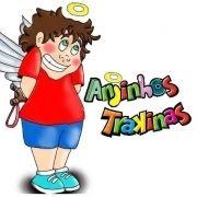 Logo Anjinhos Trakinas - Animação Infantil