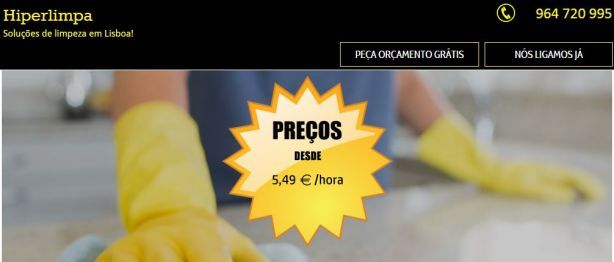 Foto de Hiperlimpa - Serviços de Limpeza