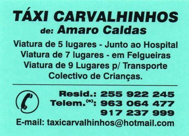 Foto 1 de Táxis Carvalhinhos, Lda