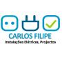 Logo Carlos FG Filipe, Instalações Eléctricas Projectos, Unip., Lda.