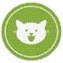 Logo CATNIP CatUP® Felicidade do seu gato é verde!