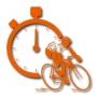 Logo Contra Relógio - Estafetas de Bicicleta