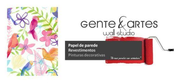 Foto 1 de Gente & Artes - Atelier e Wall Studio - papel de parede