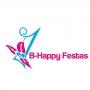 Logo B-Happy Festas - Animação e Decoração de Festas