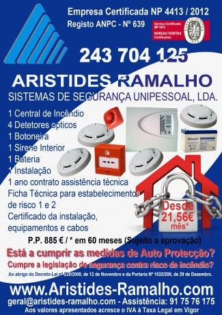 Foto 2 de Aristides Ramalho - Sistemas de Segurança, Unip., Lda