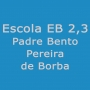 Logo Escola E B 2, 3 Padre Bento Pereira de Borba