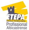 Logo Etepa, Escola Tecnológica e Profissional Albicastrense, Sociedade Unipessoal, Lda