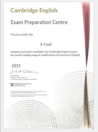 Foto 1 de S-Cool - Cambridge English Exam Preparation Centre