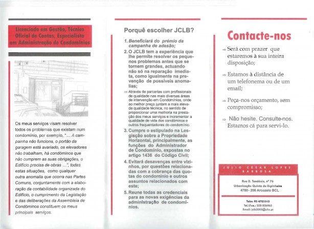 Foto 3 de Júlio César Lopes Barbosa - Jclb Condomínios, Telm. 934703843 - Licenciado Em Gestão, Técnico Oficial de Contas, Especialista Em Administração de Condomínios