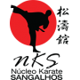 Logo Núcleo Karate Sangalhos