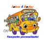Logo Sobre 4 Rodas - Transporte de Crianças