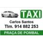 Logo Táxi - Carlos Manuel Pereira Santos